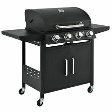BBQ Grillwagen Gasgrill Idaho Edelstahl Barbecue Grillen Garten - B-Ware