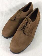 Dr. Scholls DONNA Women s Tan Suede Leather Lace Up Casual Walking Shoes Sz  ... 694da156513