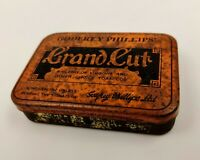 Vintage British Tobacciana-Tobacco Tin- Godfrey Phillips' Grand Cut