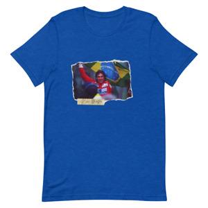 Ayrton Sennat-Shirt Retro Formel One Fahrer' Champion T-Shirt Vintage Unisex