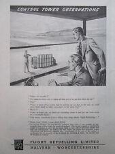 9/1946 PUB FLIGHT REFUELLING LIMITED MALVERN PETROL FUEL / SMITHS KLG PLUGS AD