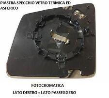 PIASTRA SPECCHIO VETRO TERM FOTOCROM DESTRO 001122 MERCEDES CLASSE ML W166 2012
