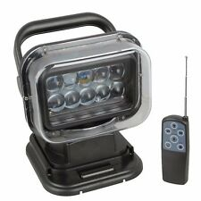 50W LED Search Light with Remote and Magnetic Base - 360 Degree for Shop Use