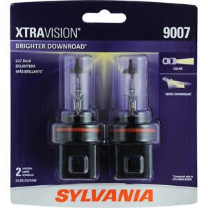 2 New 9007 Halogen Headlight Bulbs-Convertible Sylvania 9007XV.BP2 Free US Ship