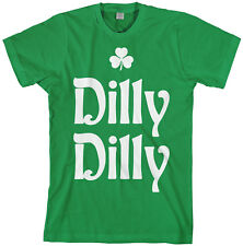 Dilly Dilly St. Patrick's Day Men's T-Shirt Irish Beer Shamrock