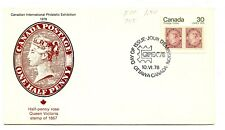 Canada FDC #755 Capex 78 Fleetwood  Cover 1978 G287