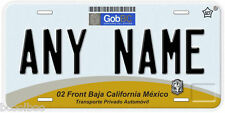 Baja California Mexico Any Name Number Novelty Auto Car License Plate C03