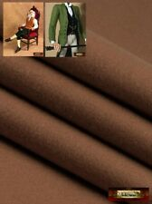 M00775 Morezmore Thin Felt for Puppet Clothes Chocolate Brown Fabric Soft Rayon