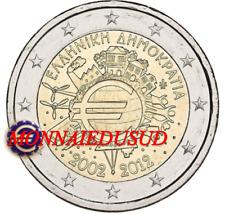 2 Euro Commémorative Grèce 2012 - 10 Ans de l'Euro TYE