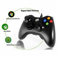 Wired Game Controller for Windows & Xbox 360 Console USB Gamepad