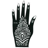 Henna Tattoo Schablone Hand Links Kina Fußbemalung Dövme Mehndi