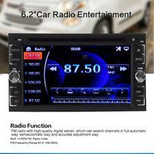 Car Stereo Radio DVD CD MP5 Player 6.2