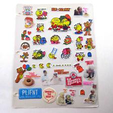 Hambly EASTER EGG Stickers Vintage retired glitter hunt HTF