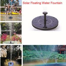 Solar Powered Floating Fountain Water Pump for Outdoor Bird Bath Garden Patio