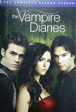 THE VAMPIRE DIARIES The COMPLETE SECOND SEASON 2 Two 2nd, DVD, Brand New