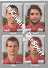 N°620 FOGLIO - FATIC # ITALIA VICENZA CALCIO STICKER PANINI CALCIATORI 2009