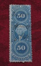 United States Internal Revenue Fifty Cents Conveyance Stamp