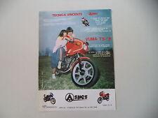 advertising Pubblicità 1981 MOTO ASPES YUMA JUMA 125 TS/B