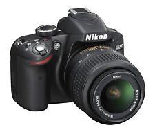 Nikon D3200 DSLR Camera with AF S DX 18-55mm VR lens. Excellent Condition.