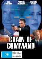 CHAIN OF COMMAND - ROY SCHEIDER PATRICK MULDOON ACTION NEW DVD MOVIE SEALED