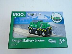 Brio #33214 Freight Battery Engine