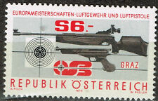 Austria Guns Shooting Competition stamp 1979 Mnh