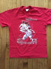 Vintage St Louis Cardinals Shirt Mark McGwire  Smashing the Record MLB Adult M