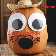 50mm Joggle Moveable Black Eye Wiggly Google Googly Eyes Craft Stick On Adhesive