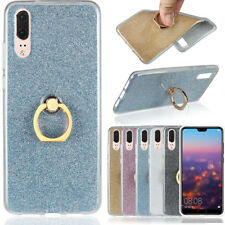 Soft TPU Case Bling Finger Ring Holder Stand Phone Case Cover For Samsung S9 730