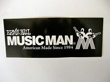 MUSICMAN ELECTRIC GUITARS ELECTRIC BASS ERNIE BALL DECAL CASE BUMPER STICKER NEW