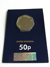 MR JEREMY FISHER 2017 50P BRILLIANT UNCIRCULATED COIN SEALED BEATRIX POTTER