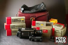 LOT: Canon 814 XL-S with Various Accessories (19 Pcs.) 8mm