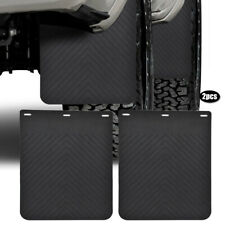 Front Rear Universal Rubber Mud Flaps Splash Guards Mudflaps Van Truck Pickup
