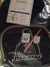 Pottery Barn Kids Star Wars Mini Backpack Navy blue
