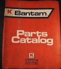 Koehring Bantam T-644 Telescoop Excavator Parts Catalog Manual
