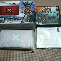 Monster Hunter Cross X special pack Nintendo 3DS LL XL console FastShipping JP