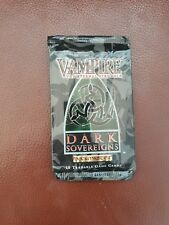 Vampire The Eternal Struggle VTES Jyhad Sealed Dark Sovereigns Booster Pack CCG