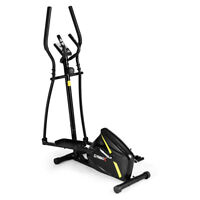 Magnetic Elliptical Machine Trainer Monitor Quiet Driven for Home Gym Exercise