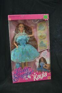 """Barbie """"Locket Surprise Kayla"""" Mattel 11209 1993 NRFB"""