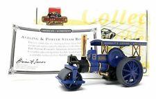 Matchbox YAS03 Aveling & Porter Steam Roller blau 1:60 Models of Yesteryear MoY