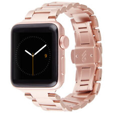 CASE MATE Apple Watch Band 38mm 1 / 2 / 3 Series || Rose Gold Stainless Steel