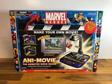 Marvel Heroes Ani-Movie The Animated Movie Maker Jazwares Inc In Box Rare