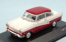 Ford Taunus 17M (P2) 1957 White / Dark Red 1:43 Model WB190 WHITEBOX