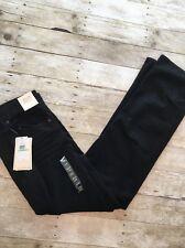 Calvin Klein Relaxed Straight Leg Jeans Black Denim Mens 34x34 NWT NEW