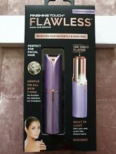JML Finishing Touch Flawless 18k Gold-plated Discreet Hair Remover - LAVENDER