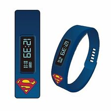 Superman Fitness Tracker LED Watch Licensed DC Comics