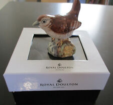 Royal Doulton Wren Bird Figurine Animals Series Rda 100 2005 New in Box