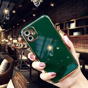 Luxury Silicone Shockproof Case For iPhone 11/11Pro/11ProMax/12/12Pro/12ProMax