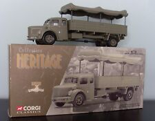 CORGI FRENCH HERITAGE COLLECTION 73801 BERLIET GLR8 MILITARY TRUCK 1:50 SCALE