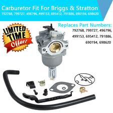 Карбюратор подходит для Briggs & Stratton 799727 6986 20 14-15hp 16hp 17hp 18hp двигатель